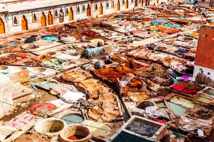 Visit Marrakech's Ancient Tanneries