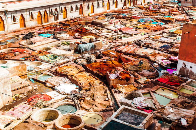 Visit Marrakech's Ancient Tanneries