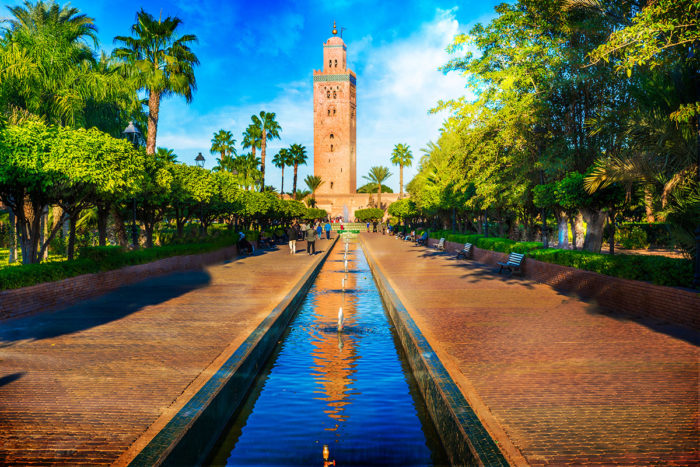 Visit and Admire the Ornamental Architecture of the Koutoubia Mosque in Marrakech