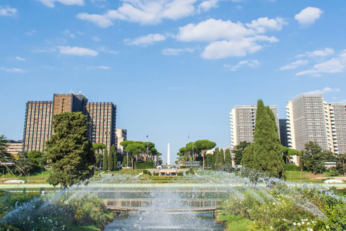 Where to see and stay in Rome: EUR Modern Rome Area, save some money in a very modern area