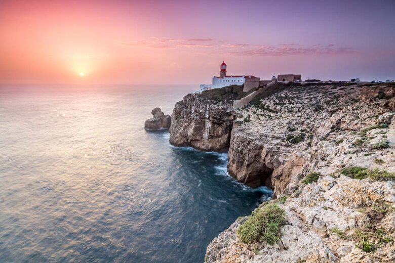 Sagres is a small, laid-back beach town to stay in Algarve