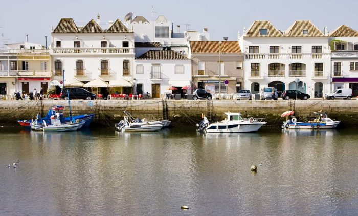 The small city Tavira to stay in Algarve