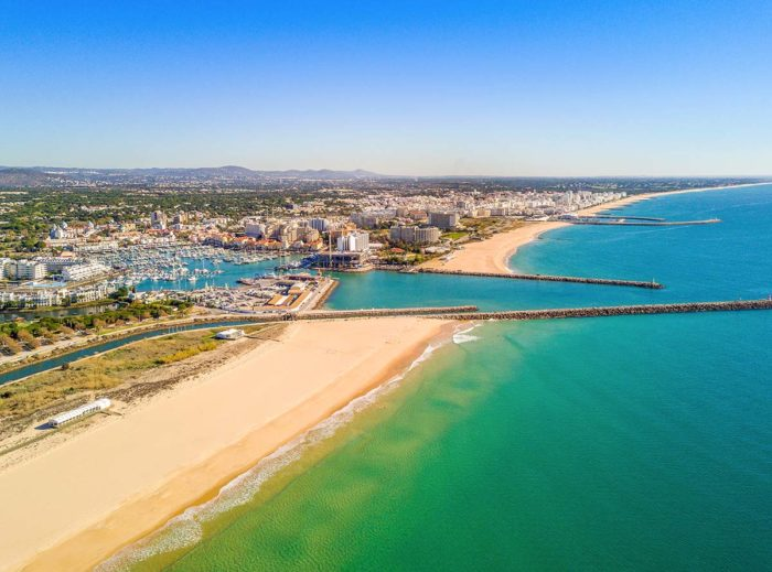 Vilamoura is one of the bests places to stay in Algarve if you're looking for an upscale and glittery beach holiday