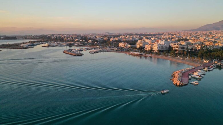 Glyfada, great area to stay in Athens in sommer