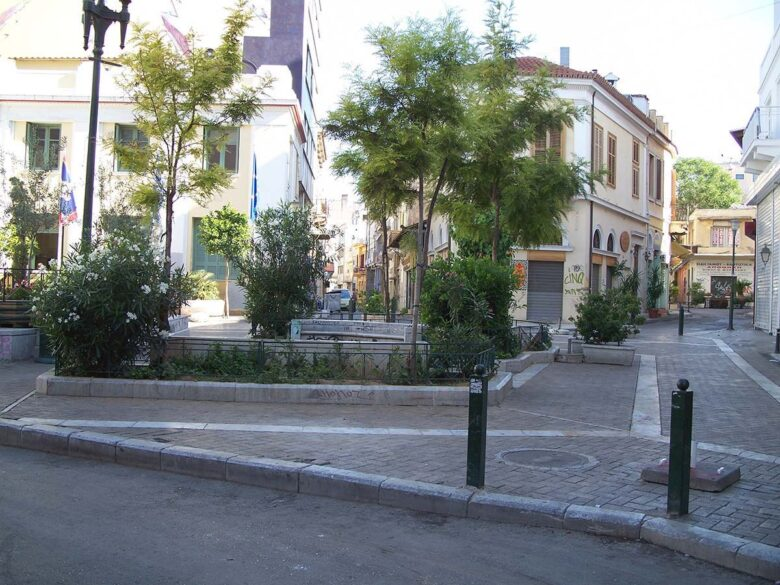 Psiri, best area to stay in Athens for nightlife