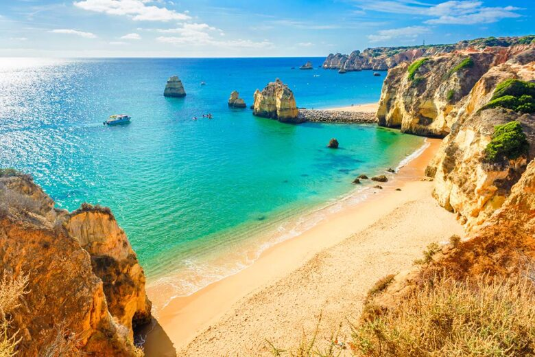 Lagos offers a robust collection of guest houses and hostels to stay in Algarve
