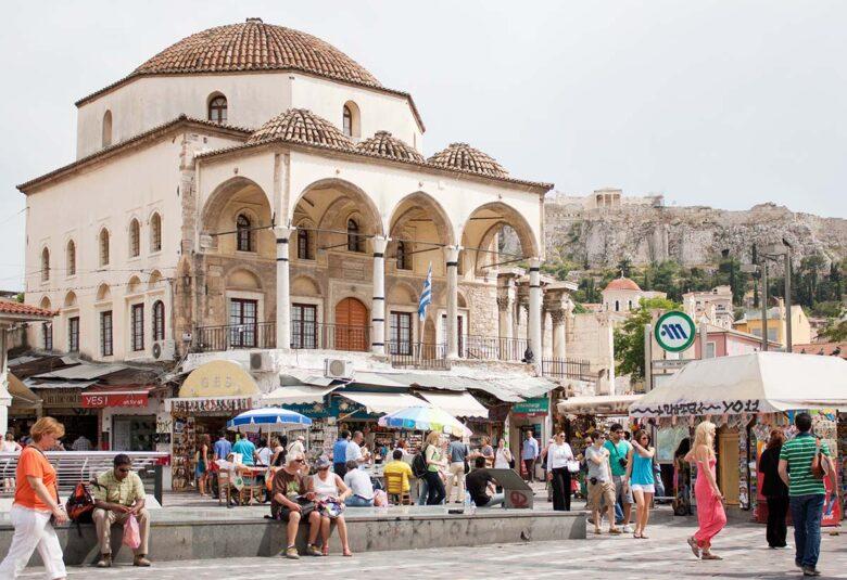 Where to stay in Athens? Monastiraki, close to everything