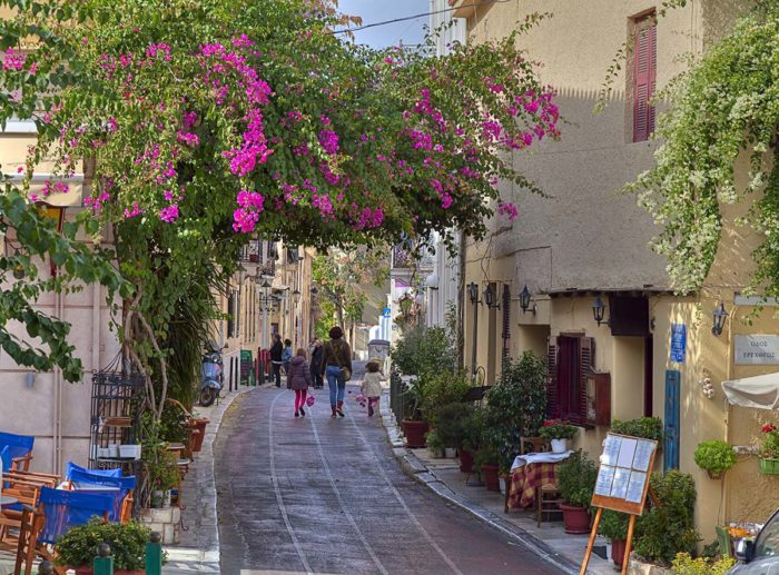 Plaka, the most charming area to stay in Athens