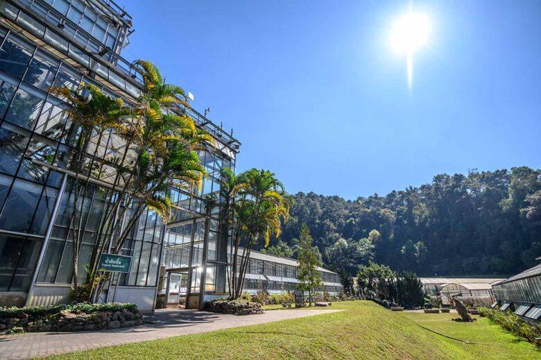 Queen Sirikit Botanic Garden in Chiang Mai