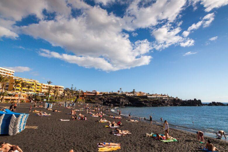 Best Beaches in Tenerife: Playa de la Arena