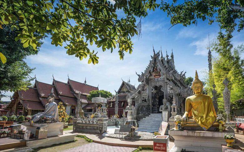 Visit Wat Srisuphan in Chiang Mai