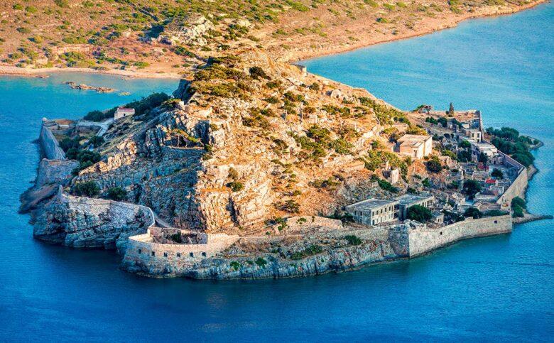 Spinaloga island contains an extraordinary amount of history in Creta