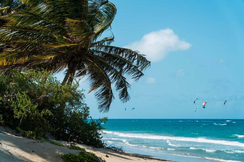 Cabarete is a bohemian beach town in Dominican Republic for younger and fun-loving tourists