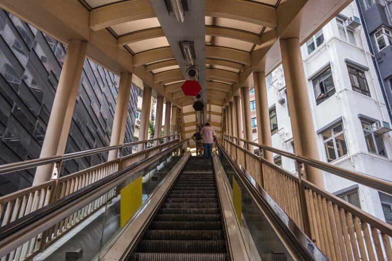 Enjoy the Mid Levels Escalator in Hong Kong