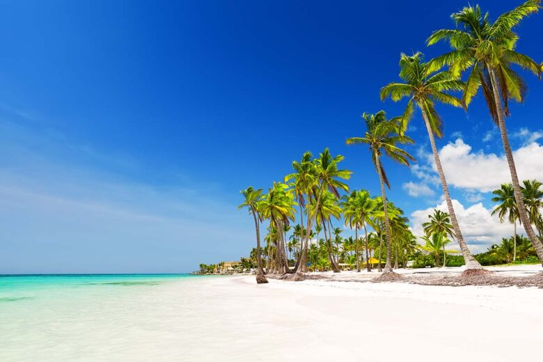 Punta Cana is a bona fide resort town built especially for tourists in Dominican Republic