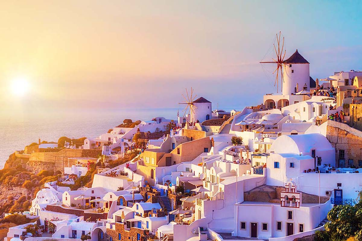 Oia, one of the best areas to stay in Santorini