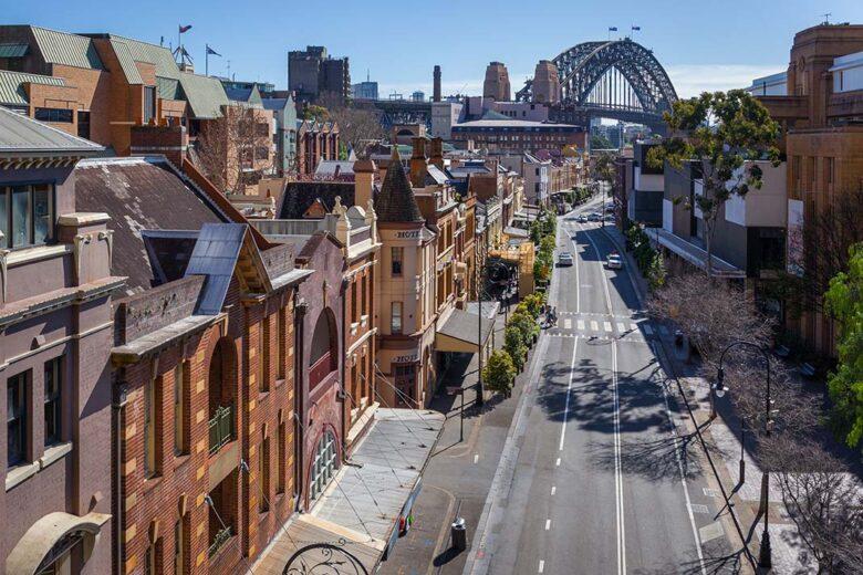 Stay in Sidney: The Rocks
