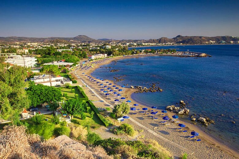 Faliraki, great area to stay in Rhodes for nightlife