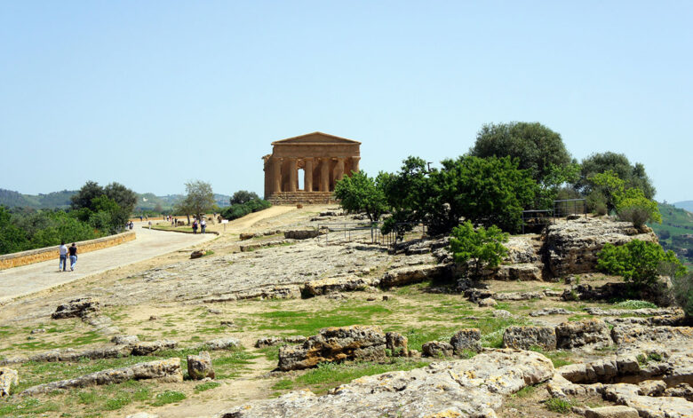 Agrigento, the Valley of Temples in Sicily
