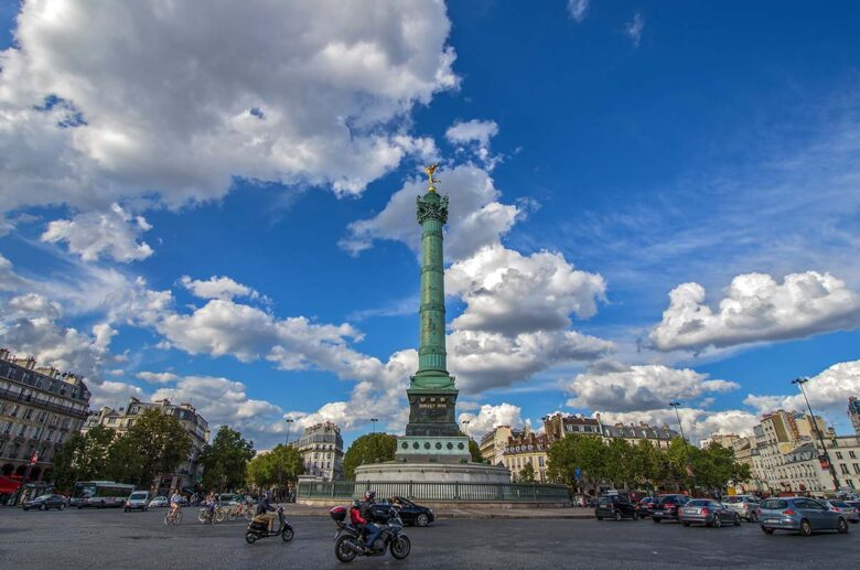 Bastille, République and Nation, cheaper accommadation