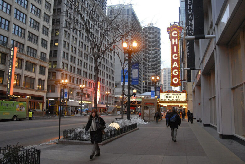 Theater District, best Chicago neighborhood for theater aficionados