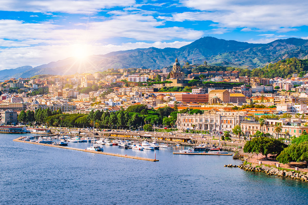 Messina, packed with beautiful old architecture and museums