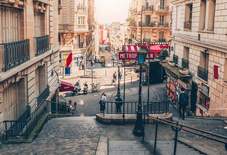 Montmartre, romantic and affordable accommodation