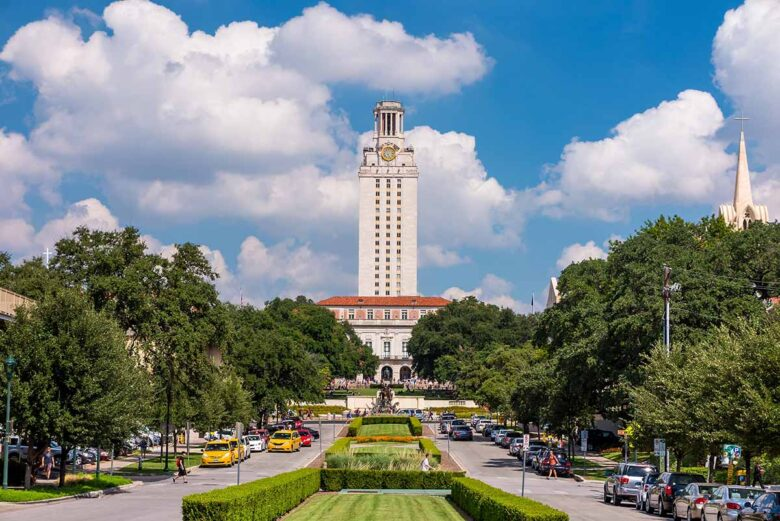 University of Texas Campus Area, where to stay in Austin on a budget