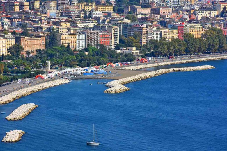 Lungomare Caracciolo, good place to stay in Naples for everyone