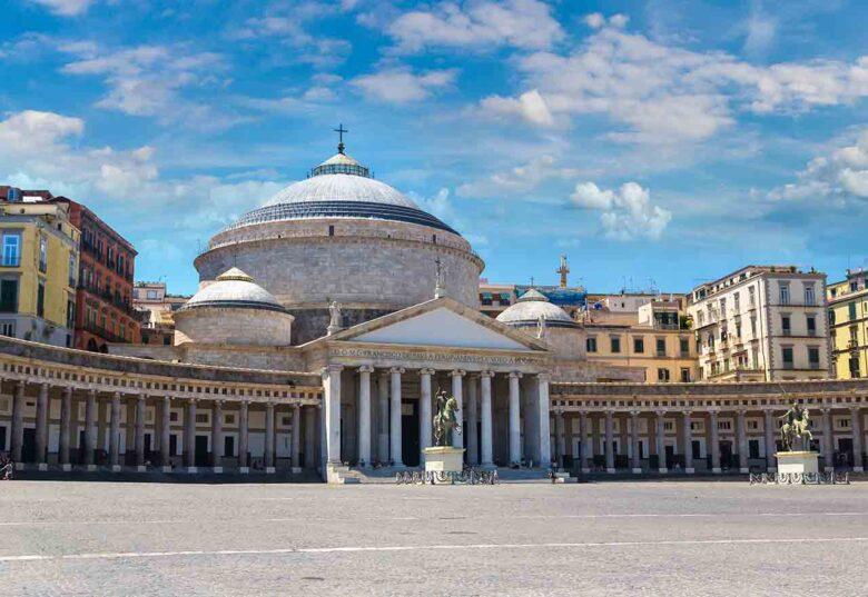 Piazza del Plebiscito, where to stay in Naples for families