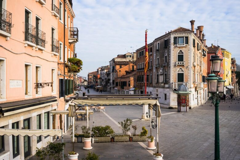Castello, one of the quieter places to stay in Venice