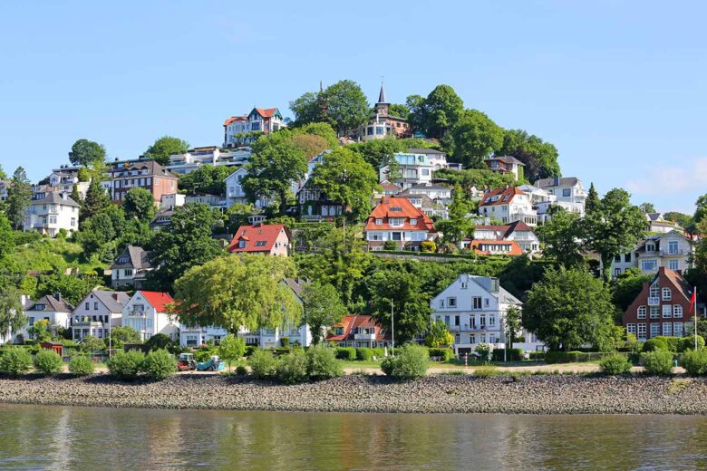 Blankenese, where to stay in Hamburg in a quiet area