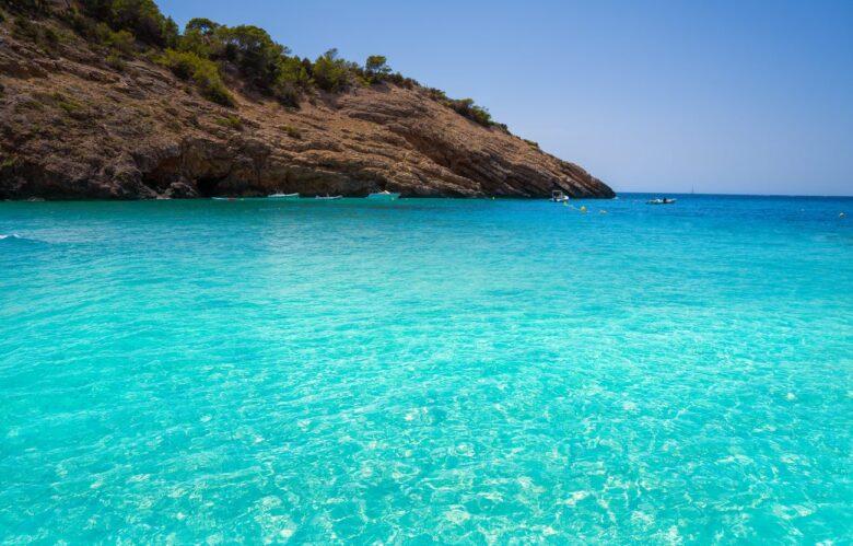 Best beaches in Ibiza: Cala Moli