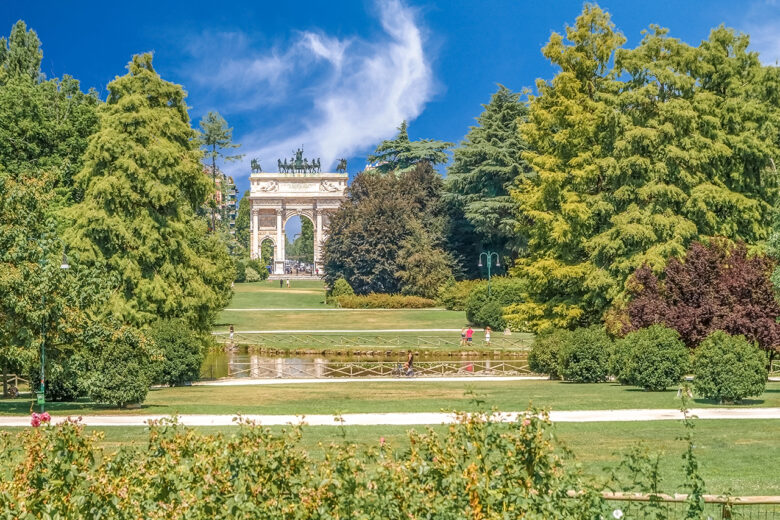 Sempione, quiet, green spaces, and good priced accommodation