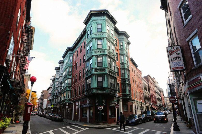 The North End, great for history lovers