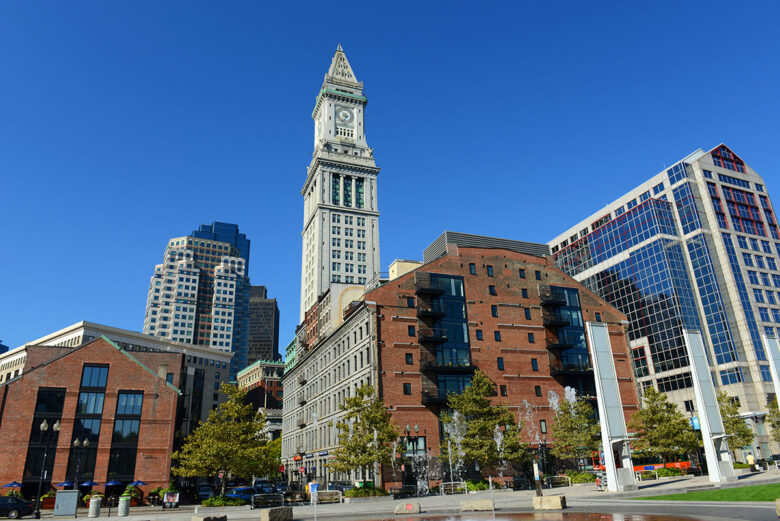 The Financial District, where to stay in Boston for business