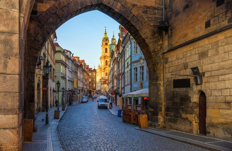 Mala Strana, where to stay in Prague for couples and families