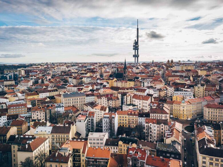 Zizkov, where to stay in Prague for nightlife